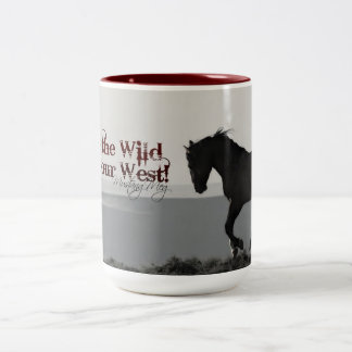 "MustangWILD Mug ""Keep the Wild in our West"""