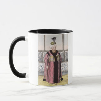 Mustapha II (1664-1703) Sultan 1695-1703, from 'A Mug