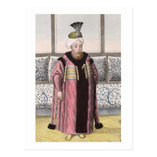 Mustapha II (1664-1703) Sultan 1695-1703, from 'A Postcard