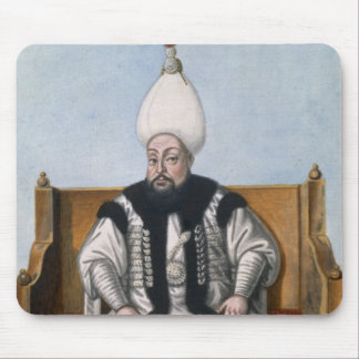 Mustapha III (1717-74) Sultan 1757-74, from 'A Ser Mouse Pad