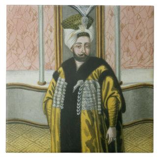 Mustapha IV (1779-1808) Sultan 1807-8, from 'A Ser Ceramic Tile