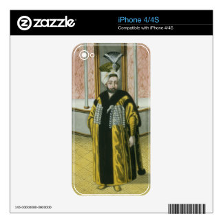 Mustapha IV (1779-1808) Sultan 1807-8, from 'A Ser iPhone 4S Skin