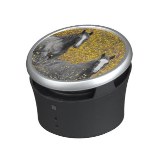 Mustard and Horses Bluetooth Speaker