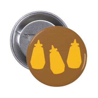 Mustard Bottles Button
