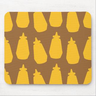 Mustard Bottles Mouse Pad