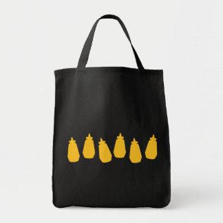 Mustard Bottles Tote Bag