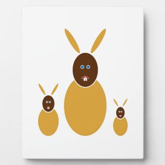 Mustard Bunnies Plaque