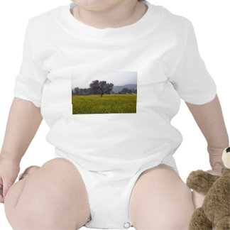 Mustard fields with their yellow flowers tee shirts