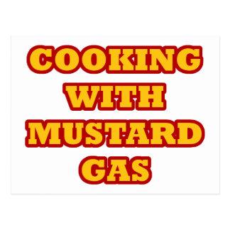Mustard Gas Postcard