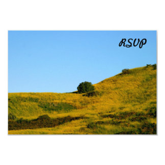 "Mustard Grass 3.5"" X 5"" Invitation Card"