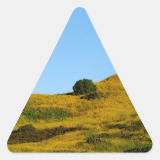 Mustard Grass Triangle Sticker