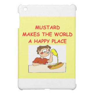 mustard iPad mini case