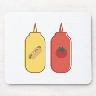 Mustard & Ketchup Mouse Pad