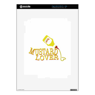 Mustard Lover Decals For The iPad 2