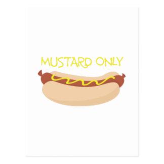 Mustard Only Postcard