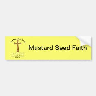 Mustard Seed Faith Bumper Sticker