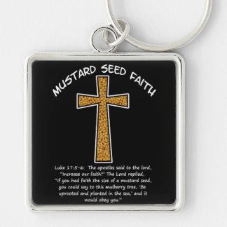 Mustard Seed Faith Key Chains