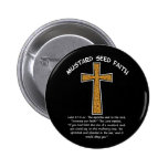 Mustard Seed Faith Pinback Button