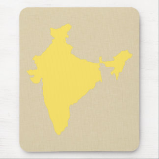 Mustard Spice Moods India Mouse Pad