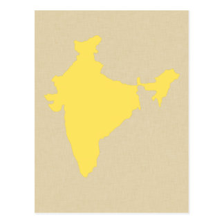 Mustard Spice Moods India Postcard