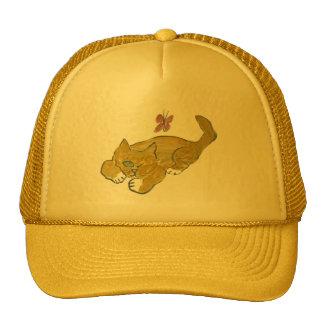 Mustard, the Kitten, Needs a Nap Trucker Hat