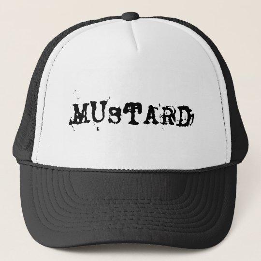 MUSTARD TRUCKER HAT