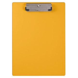 """Mustard Yellow"" Clipboards"