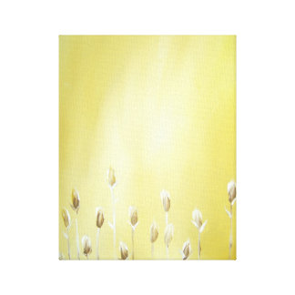 Mustard Yellow-Flowers-Canvas!!! Canvas Print