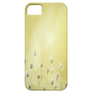 Mustard Yellow-Flowers-iphone cover!!! iPhone SE/5/5s Case