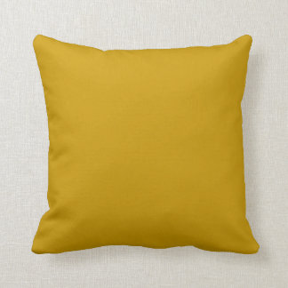mustard yellow pillow