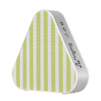 Mustard Yellow Retro Colorful Modern Stripes Patte Bluetooth Speaker