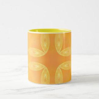 Mustard Zest II  ~ Mug~ Two-Tone Coffee Mug
