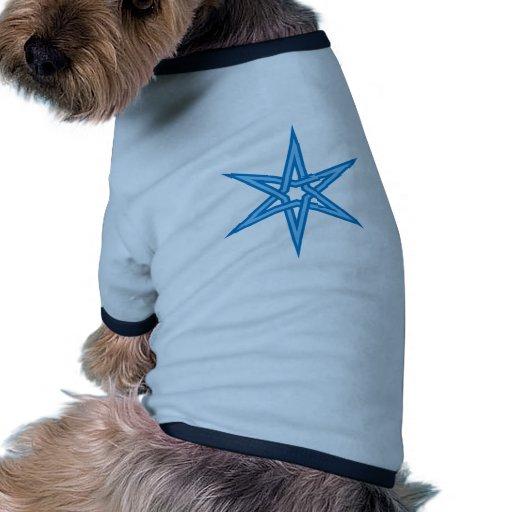 Muster Dreiecke pattern triangles Hunde-t-shirt