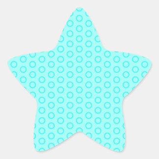 muster erbsen pünktchen punteado gira retro do pegatina en forma de estrella