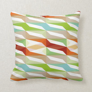 Muster Farbig Throw Pillow