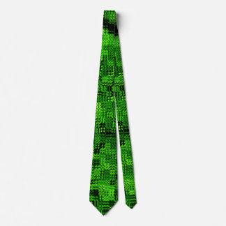Muster grün pattern green tie