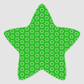 muster moteados tupfer tocan ligeramente gira punt pegatina en forma de estrella