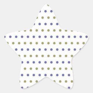 muster puntuado puntúa tocan ligeramente erbsen mo pegatina en forma de estrella