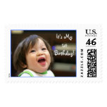 Must've Been Funny, It's My 1st Birthday! Postage Stamps