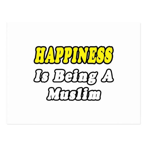 Musulmanes de la felicidad… postales