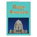 Musulmanes del Ramadán Eid Mubarak islámicos Tarjeta De Felicitación