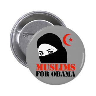 Musulmanes para Obama Pin