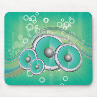 Musy Soned Background Vector Graphic.ai Mouse Pad