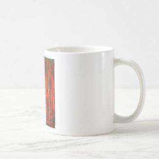 Mutaciones rojas del bosque (diseño rojo del taza clásica