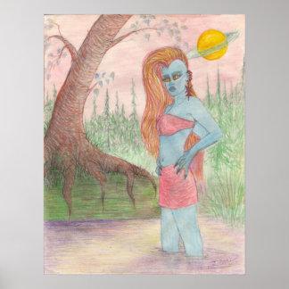 Mutant Ana Anastasia Canvas Print