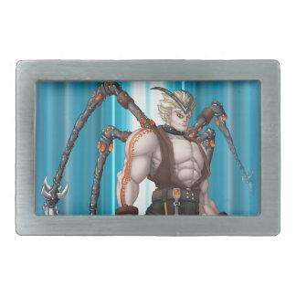 Mutant Anime Hero Belt Buckle