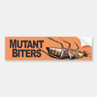 Mutant Biters - Bumper Sticker