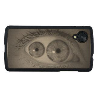 Mutant Eye Nexus 5 Wood Case Carved® Maple Nexus 5 Slim Case