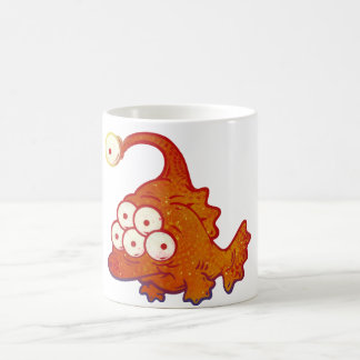 Mutant Fish Spawned From The Depths Of Nuclear Pow Coffee Mug