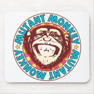 Mutant Monkey Mouse Pad